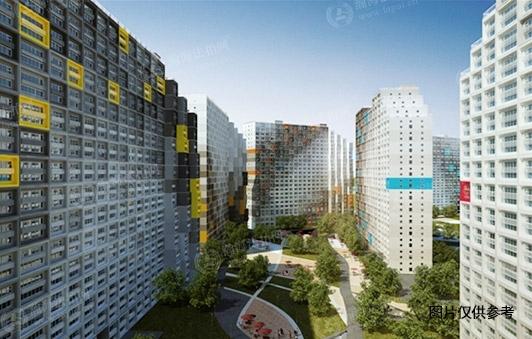 中弘北京像素南区6号楼2125室