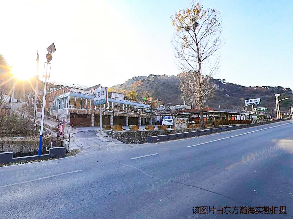 渤海镇苇店村东北东路旁土地+建筑
